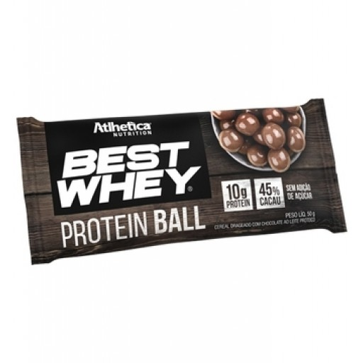 BEST WHEY PROTEIN BALL 50G CHOCOLATE