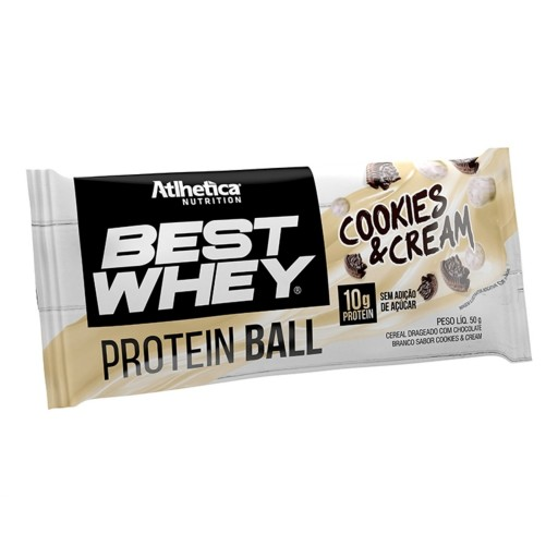 BEST WHEY PROTEIN BALL 50G COOKIES