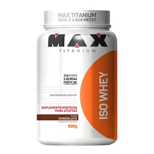 ISO WHEY 900G - MAX TITANIUM Chocolate