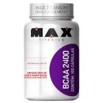 BCAA 2400 100 Caps - Max Titanium Produto