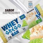 WHEY GREGO BAR CX 12 UNIDADES - NUTRATA Torta de Limão