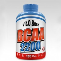 BCAA 2200 180 Caps - VitOBest Produto