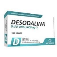 DESODALINA 60 CÁPS- SANIBRAS