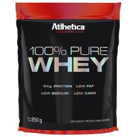 100% PURE WHEY 850G- ATLHETICA NUTRITION