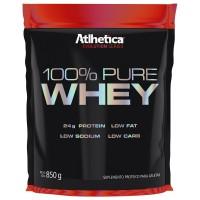 100% PURE WHEY 850G- ATLHETICA NUTRITION Baunilha