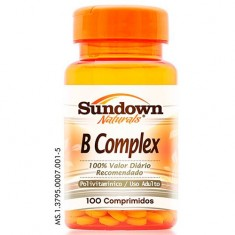 B COMPLEX 100 COMPRIMIDOS - SUNDOWN VITAMINAS