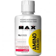 AMINO LIQUID 500ML - MAX TITANIUM Cereja