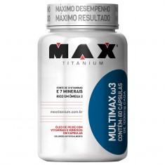 MULTIMAX Ω3 30 CÁPS - MAX TITANIUM