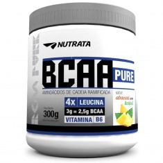 BCAA PURE 300G - NUTRATA Abacaxi Com Hortelã