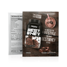 BEST WHEY SACHÊ 35G - ATLHETICA Double Chocolate