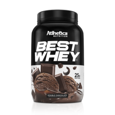 BEST WHEY 900G - ATLHETICA NUTRITION Double Chocolate