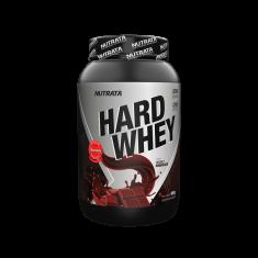HARD WHEY 900G - NUTRATA Morango