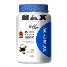 TOP WHEY 3W CAFE COM LLEITE